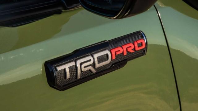 2021 Toyota Tacoma TRD Pro badge