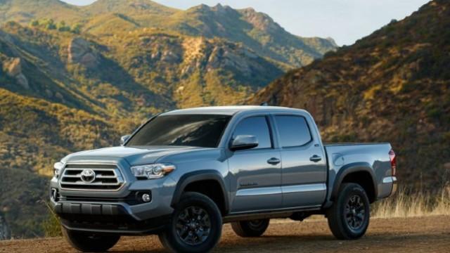 2021 Toyota Tacoma Trail Edition exterior