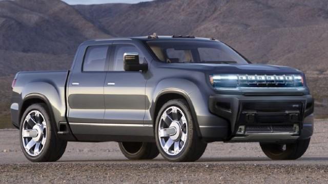 2022 GMC Hummer EV exterior