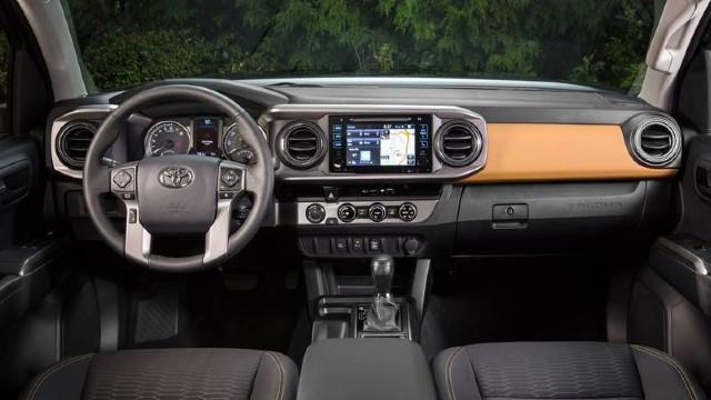 2021 Toyota Tacoma Hybrid interior
