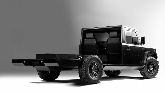 2021 Bollinger B2 Chassis Cab exterior
