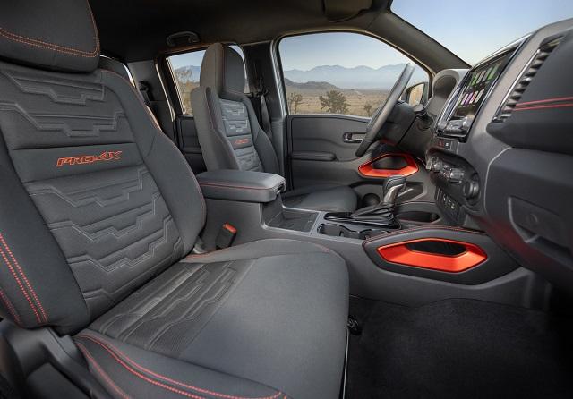 2022 Nissan Frontier cabin