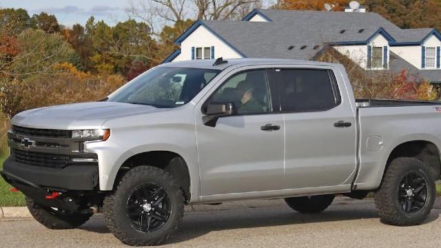 2022 Chevrolet Silverado 1500 ZRX spied