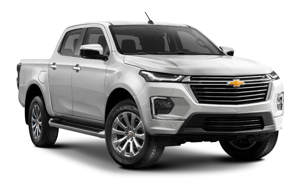 2023 Chevrolet Colorado rendered