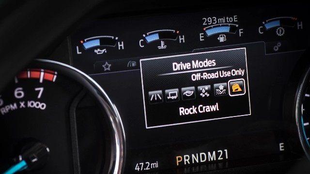 2021 Ford F-150 FX4 Rock Crawl Mode