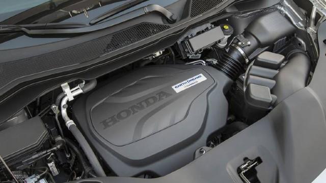 2021 Honda Ridgeline Black Edition engine