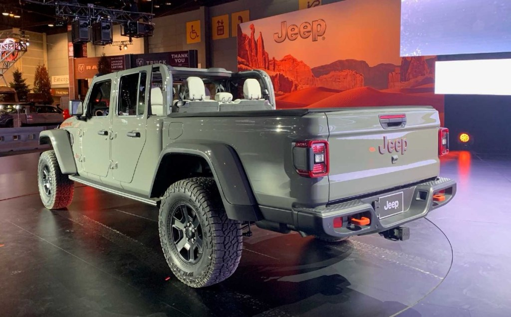 2021 Jeep Gladiator Willys Package Design