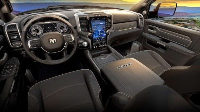 2021 Ram 1500 Limited Night Edition interior