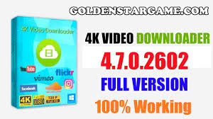 4K Video Downloader 4.8.0.2852 Crack With Keygen Download 2019
