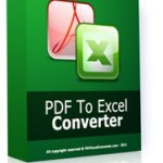 PDF to Excel converter 4 Product Key AND Crack 2019 Update