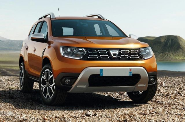 2019 Dacia Duster front