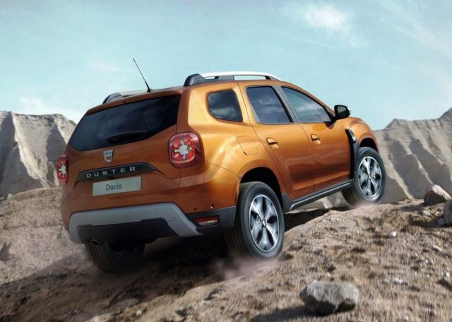 2019 Dacia Duster rear