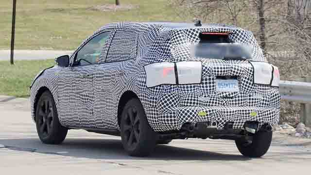 2020 Ford Escape rear