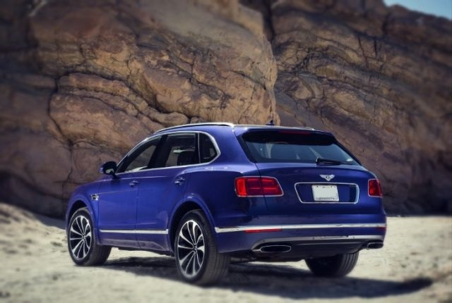 2019 Bentley Bentayga Sport Coupe rear view