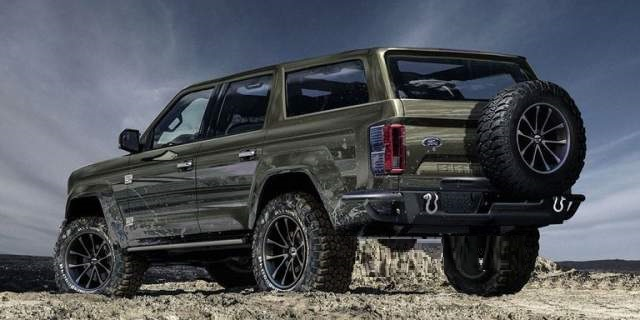2020 Ford Bronco 4 Door concept