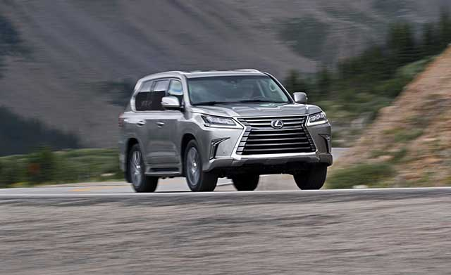 2020 Lexus LX 570 changes