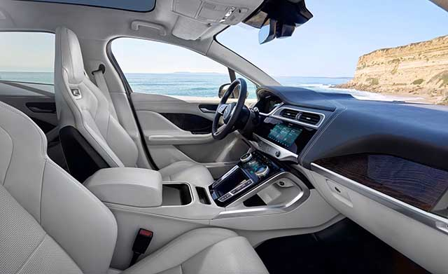 2020 Jaguar I-Pace interior