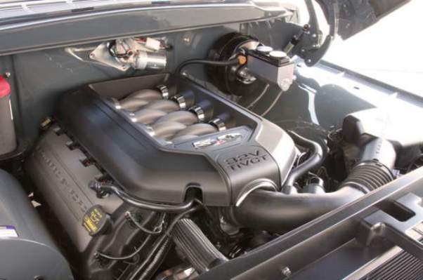 1956 Ford F-100 Coyote V8 by Ringbrothers engine