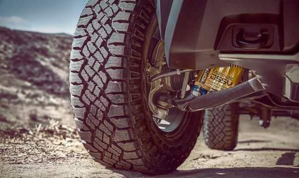 2018 Chevy Colorado ZR2 wheels