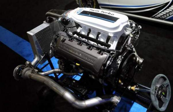 2018 Ford F-150 Diesel engine