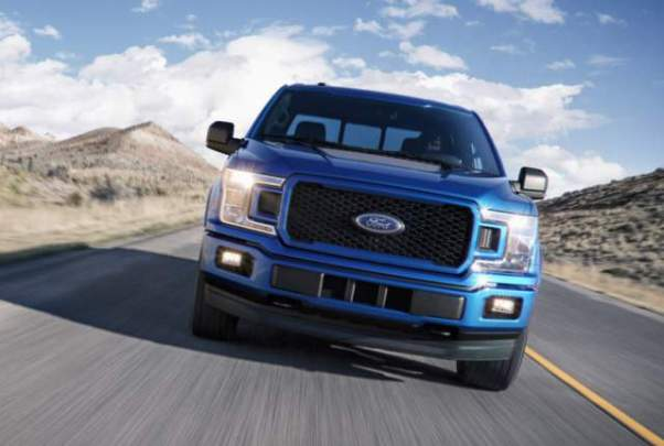 2018 Ford F-150 Diesel front