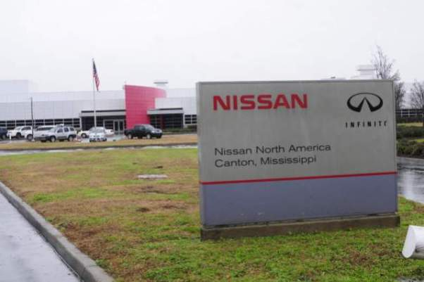 2019 Nissan Frontier Mississippi plant