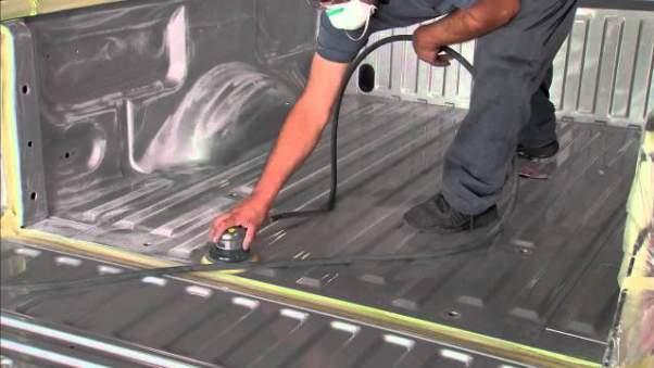 LineX vs Rhino Lining Installation