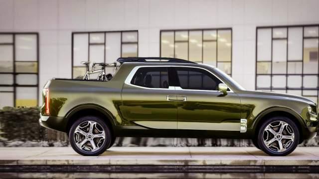 2018 Kia Pickup Truck Concept side