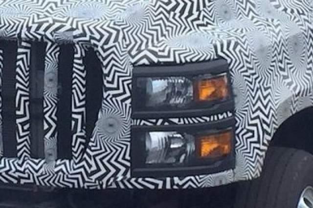 2019 Chevy Kodiak HD 4500 headlights