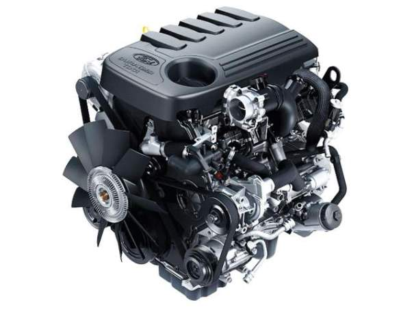 2019 Ford F-150 diesel engine