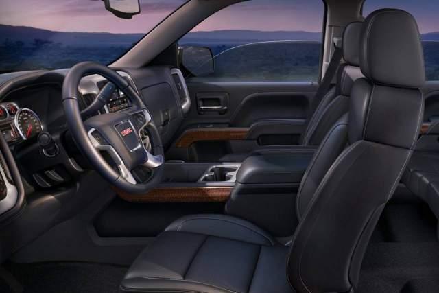 2019 GMC Sierra 1500 Diesel interior