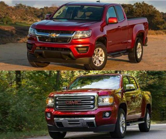 Chevy Colorado and GMC Canyon