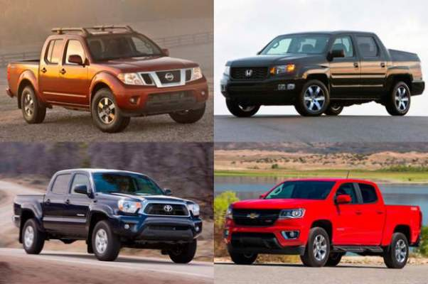 Best Small Pickup Trucks 2018-2019