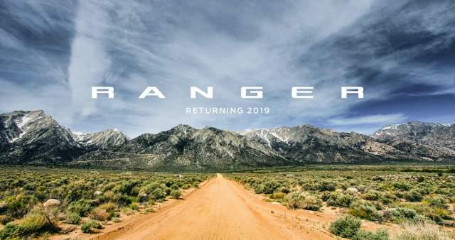 2019 Ford Ranger ad