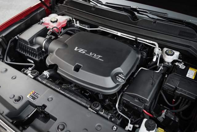 2019 GMC Canyon engine