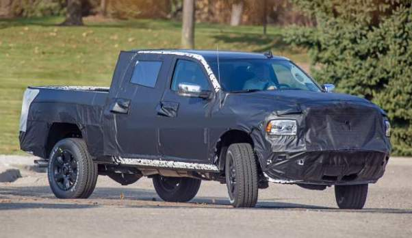 2020 Ram 2500/3500 HD first spy shots