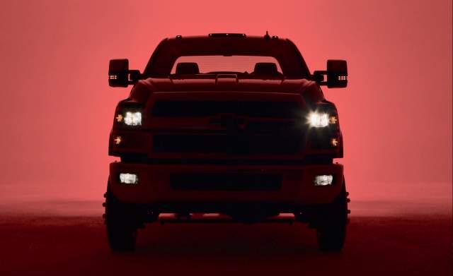 2019 Chevy Silverado 4500HD teaser