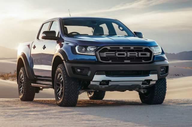 2019 Ford Ranger Raptor front