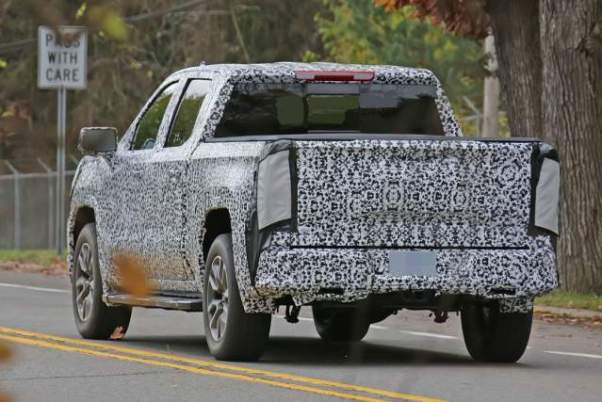 2019 GMC Sierra rear