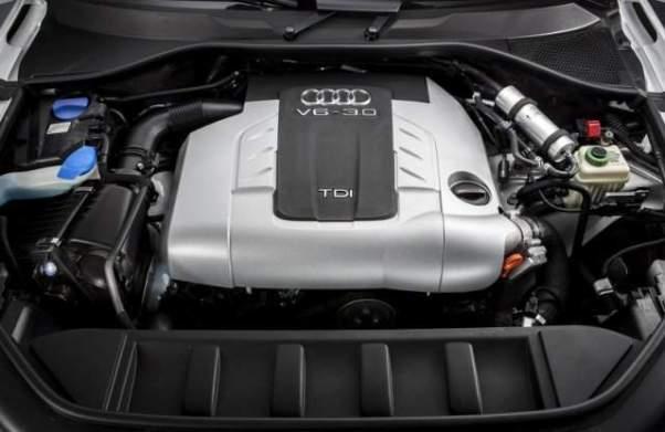 Volkswagen Amarok Pickup Truck engine