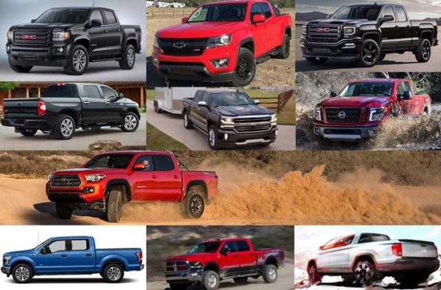 Top 10 - Best Pickup Trucks For 2019