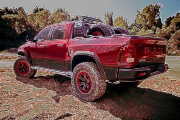 2019 Dodge Ram Rebel TRX concept