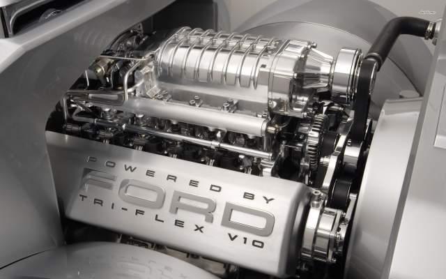 2019 Ford F-350 Super Chief tri-flex engine