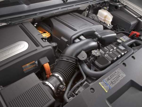 2019 Chevy Silverado 1500 Hybrid engine