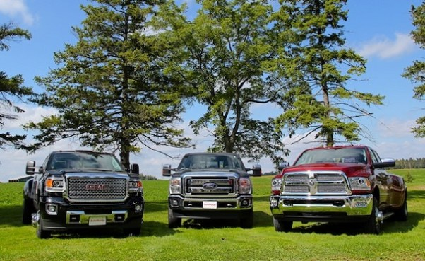 best heavy duty pickup trucks