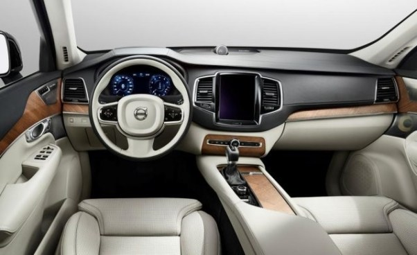 Volvo Pickup Truck Concept interior