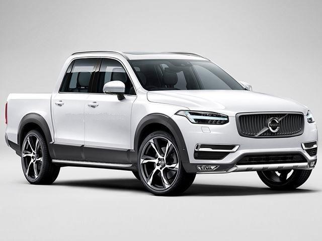 Volvo Pickup Truck Concept render
