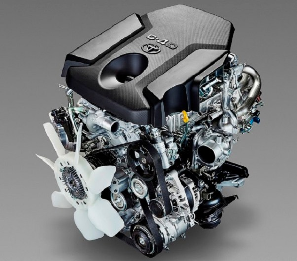 Tacoma Diesel engine