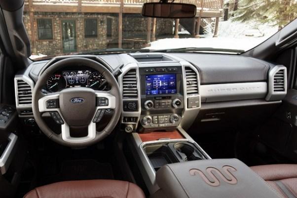 2020 Ford F-250 interior