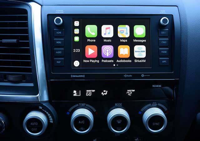 2020 Toyota Tacoma apple carplay android auto